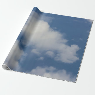 Clouds Wrapping Paper