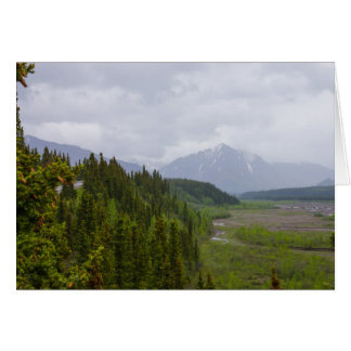 Cloudy At Denali Card