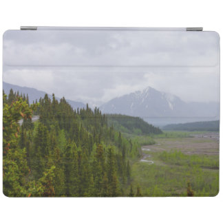 Cloudy At Denali iPad Cover
