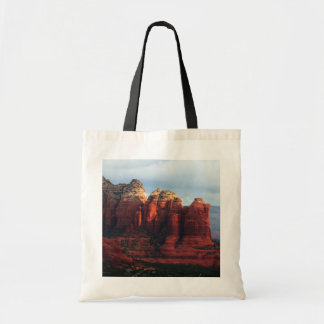 Cloudy Coffee Pot Rock in Sedona Arizona