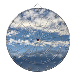 Cloudy Dart Board