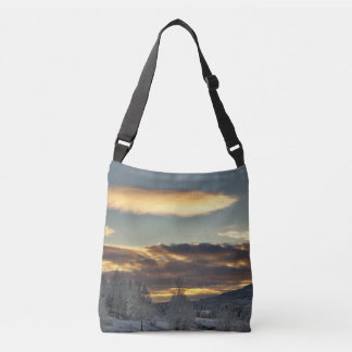 Cloudy Mothership Crossbody Bag