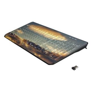 Cloudy Mothership Wireless Keyboard