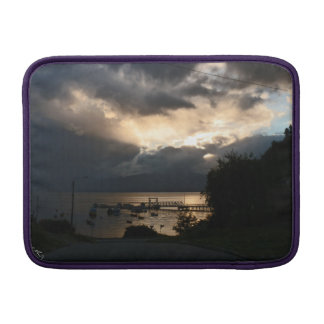 Cloudy Patagonian sunset MacBook Sleeve