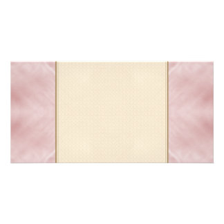 Cloudy Pink Abstract Photo Cards