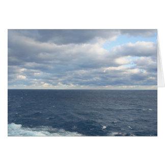 Cloudy Seas card
