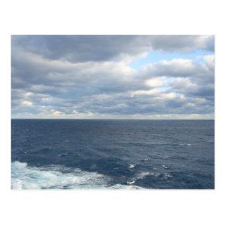 Cloudy Seas postcard