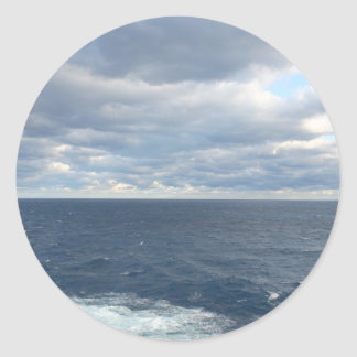 Cloudy Seas sticker