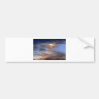 Cloudy Skies Bumper Sticker
