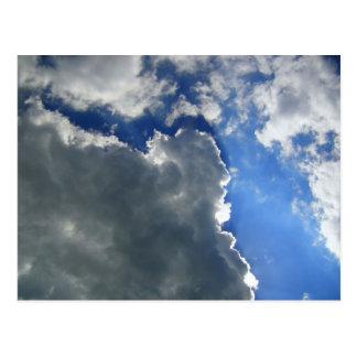 Cloudy Skies Postcard