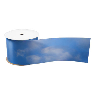 Cloudy Skies Satin Ribbon