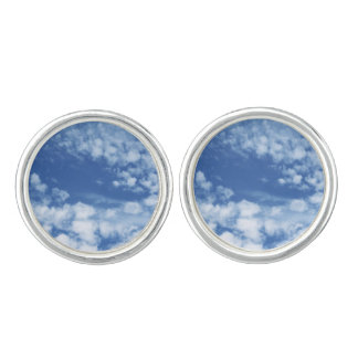 Cloudy Sky Cufflinks