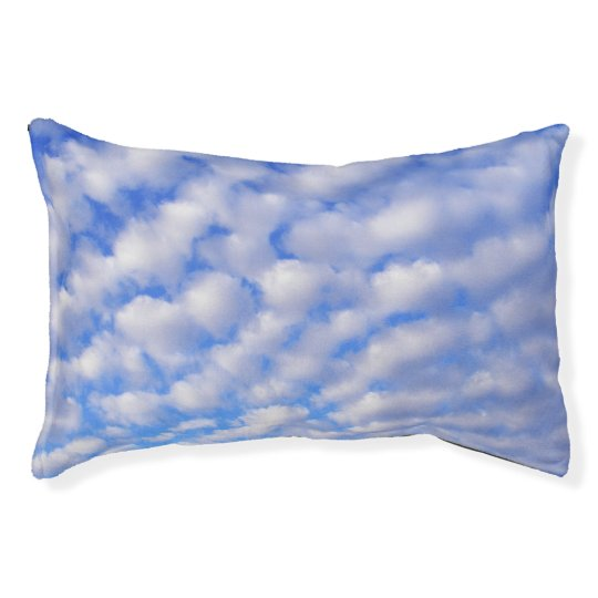 Cloudy Sky Dog Pillow