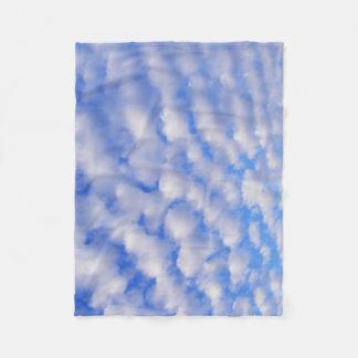 Cloudy Sky Fleece Blanket