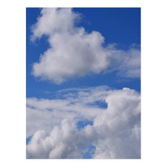 Cloudy Sky .jpg Postcard