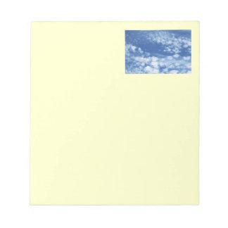 Cloudy Sky Notepad