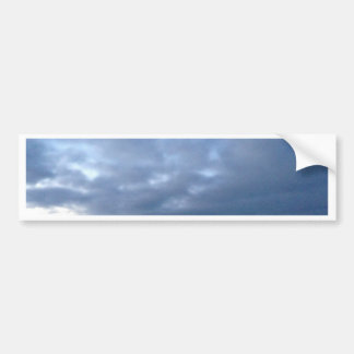 Cloudy Sky over the Atlantic Bumper Sticker