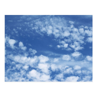 Cloudy Sky Postcard