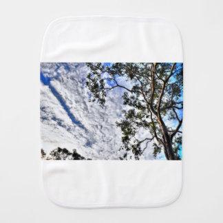 CLOUDY SKY QUEENSLAND AUSTRALIA BURP CLOTH