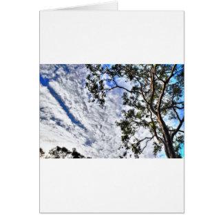 CLOUDY SKY QUEENSLAND AUSTRALIA CARD