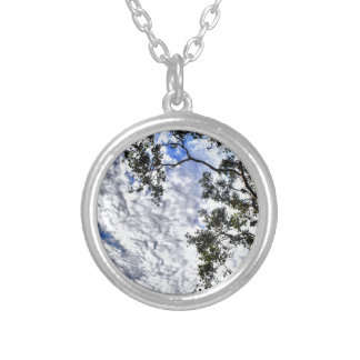 CLOUDY SKY QUEENSLAND AUSTRALIA SILVER PLATED NECKLACE