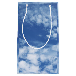 Cloudy Sky Small Gift Bag