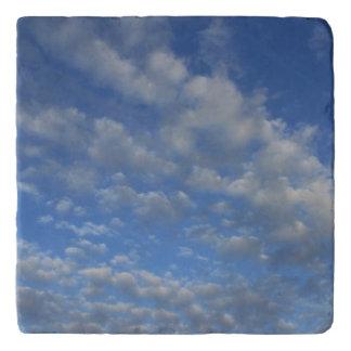 Cloudy sky trivet