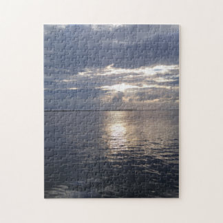 Cloudy Sunset Puzzle