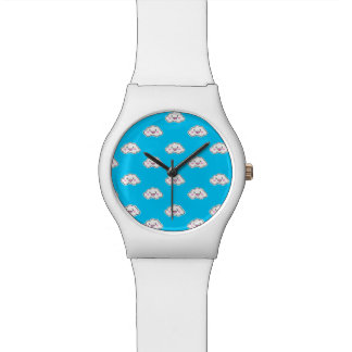 Cloudy Wrist Watches