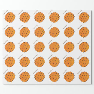 Clove Orange Happy Holidays Wrapping Paper