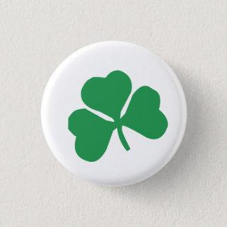 Clover 1 Inch Round Button