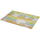 Clover And Rainbow Cutting Board