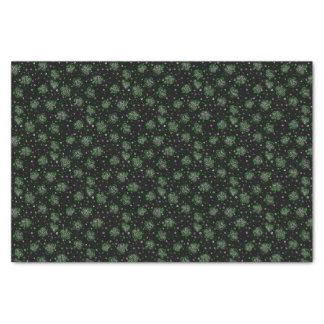 Clover Black Tissue Paper