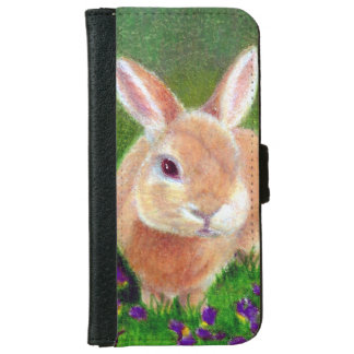 Clover Bunny iPhone 6 Wallet Case