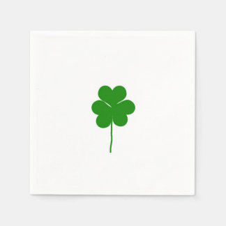 Clover Design Disposable Napkin