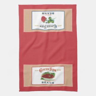 Clover Farm Label Kitchen Towel