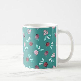 Clover Flowers 11 oz Classic Mug