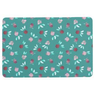 Clover Flowers Floor Mat
