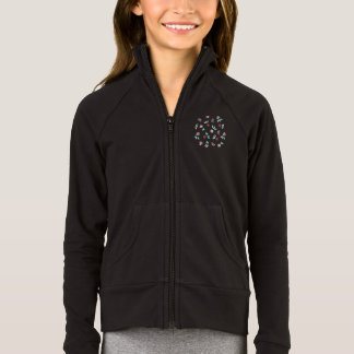 Clover Flowers Girls' Practice Jacket