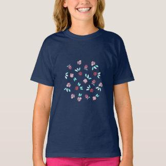 Clover Flowers Girls' T-Shirt