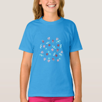 Clover Flowers Girls' T-Shirt
