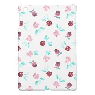 Clover Flowers Glossy iPad Mini Case