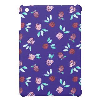 Clover Flowers Glossy iPad Mini Case