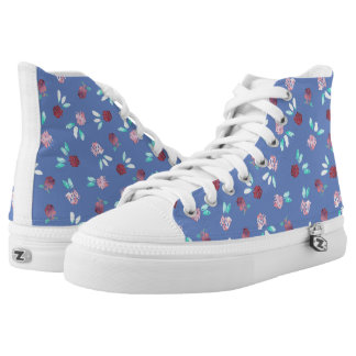 Clover Flowers High Top Shoes