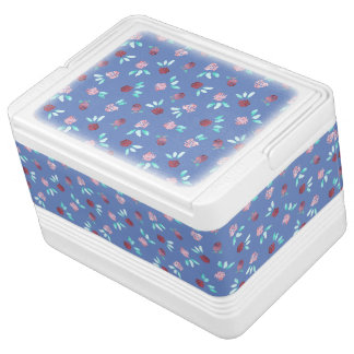 Clover Flowers Igloo 12 Can Cooler