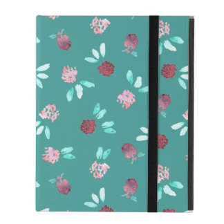 Clover Flowers iPad 2/3/4 Case with No Kickstand