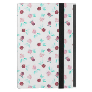 Clover Flowers iPad Mini Case with No Kickstand