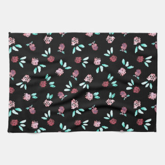 Clover Flowers Kitchen Towel