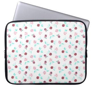 Clover Flowers Laptop Sleeve 15''