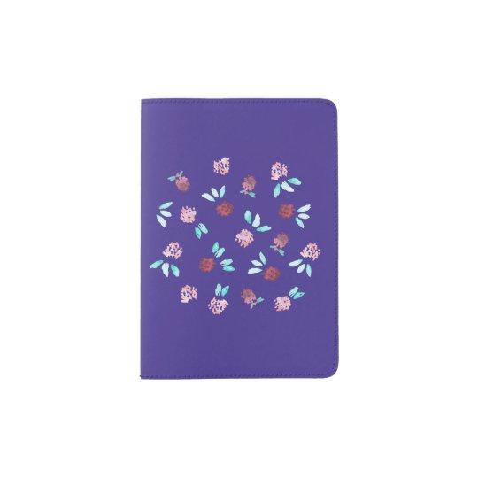 Clover Flowers Passport Holder